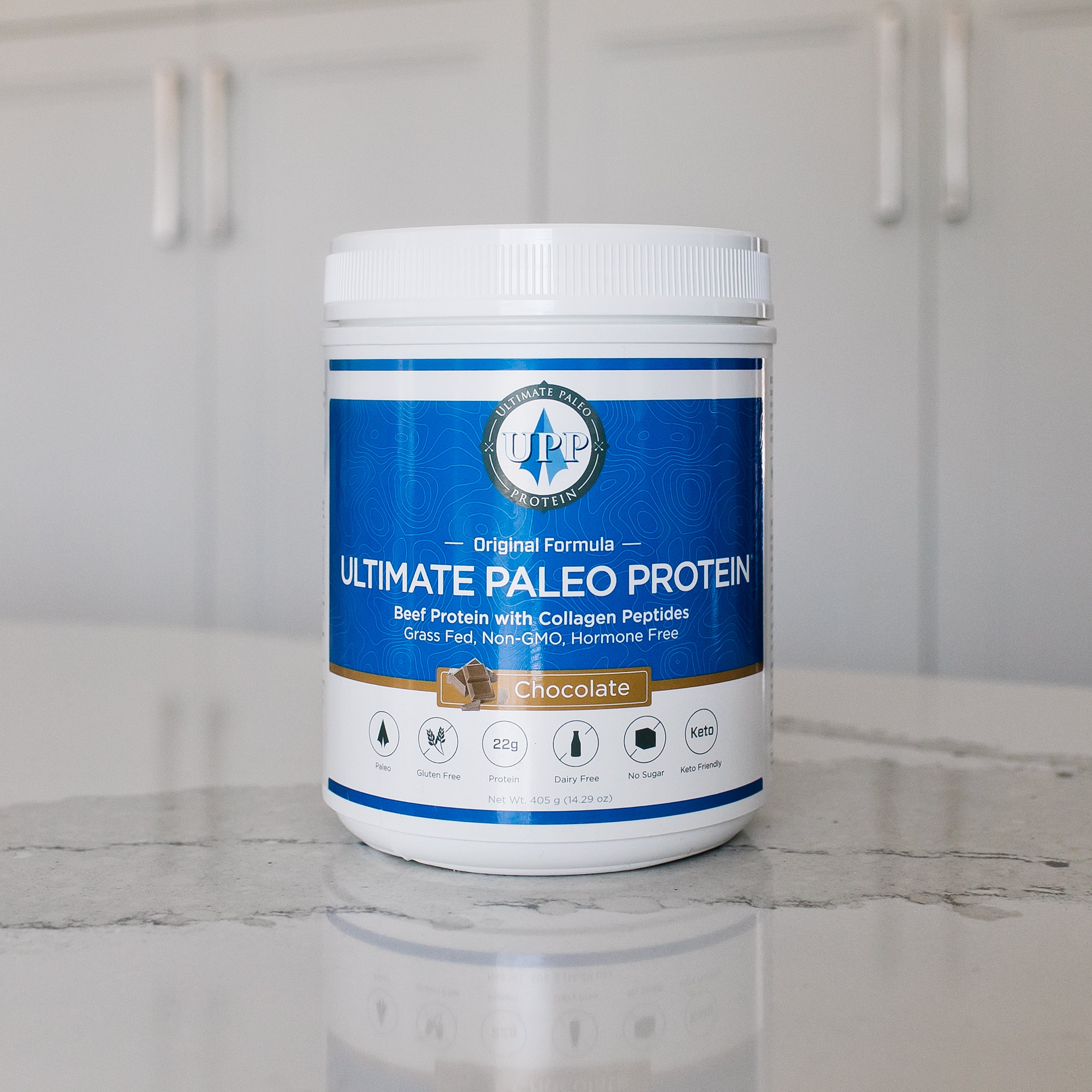 Original, Chocolate Paleo Protein Powder