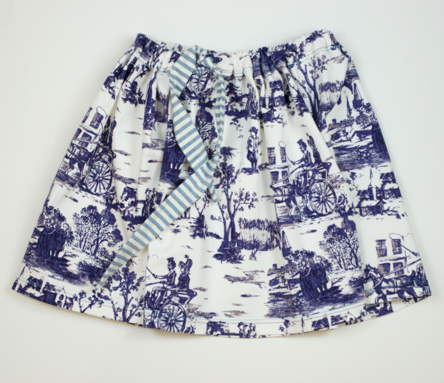 Girls Skirt - French China