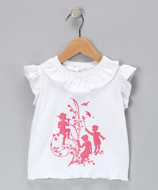 Ruffled T-Shirt - Peter Pan