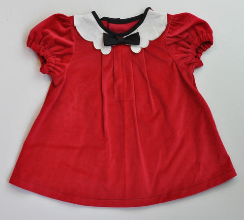 Annie Dress - Red Corduroy