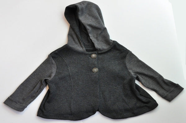 Hoodies - Gray Two Tone