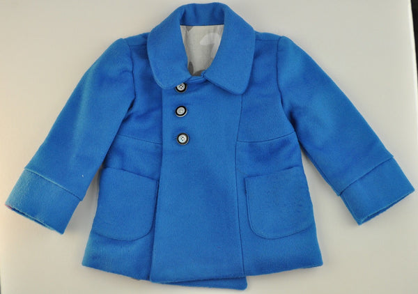 Jacket - Blue Camel Hair
