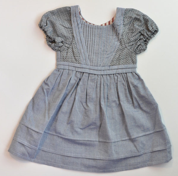 Alice Dress - Antique Chambray