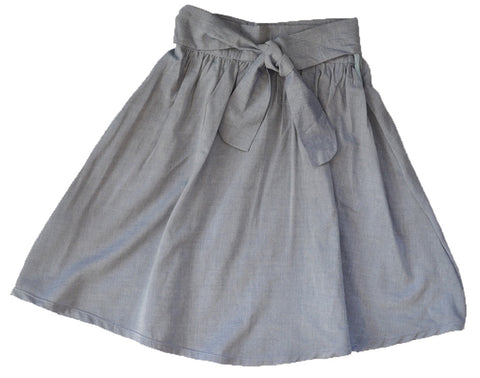 Skirt - Antique Chambray