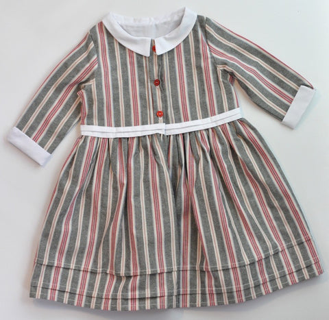 Shirt Dress - Oxford Stripe