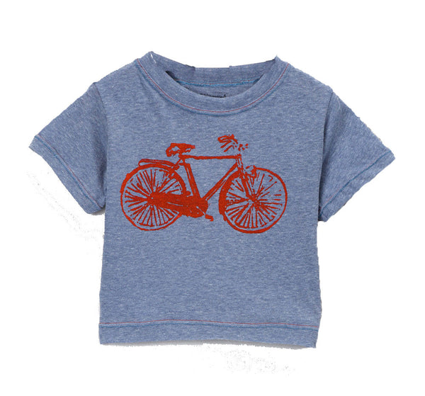 Graphic Tshirt - Blue Bike