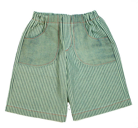 Sandbox Shorts in Railroad Stripe