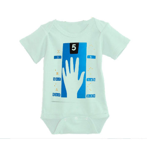 Infant Onesie in High Five