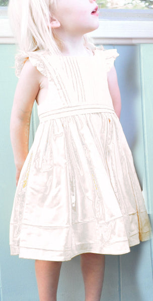 Alice Dress - Ivory Silk