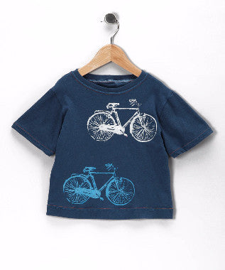 T-Shirt - Navy Blue Bike