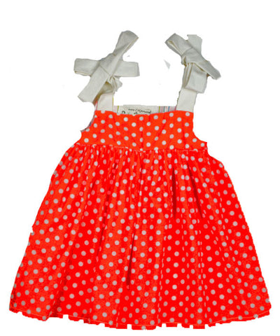 Gidget Dress in Tangerine
