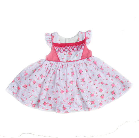 Doll Dress in Strawberry