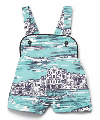 Shortalls in Venice Print
