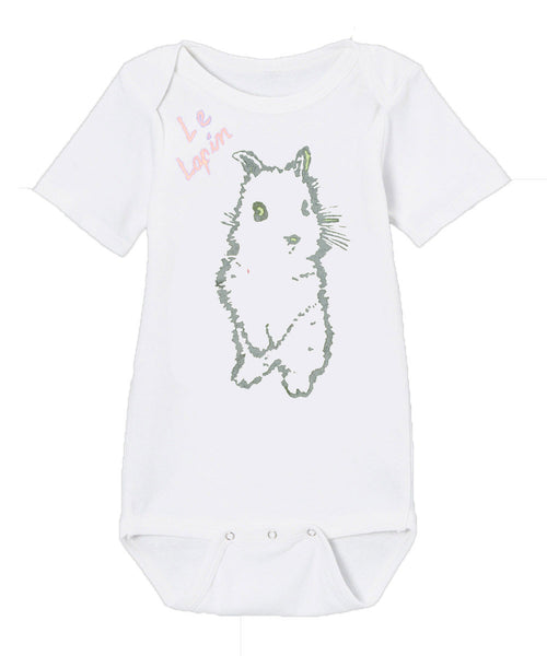 Infant Onesie in Bunny