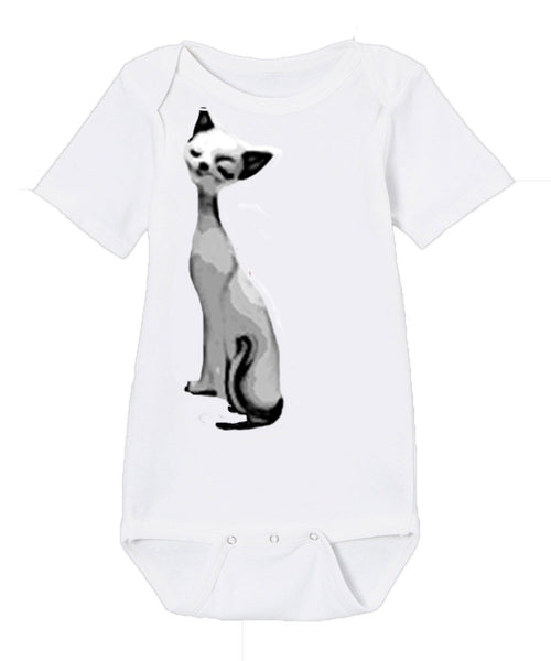Infant Onesie in Meow
