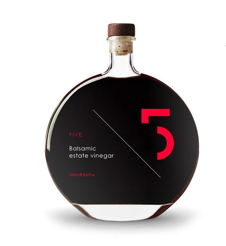 FIVE Aged Estate Balsamic Vinegar