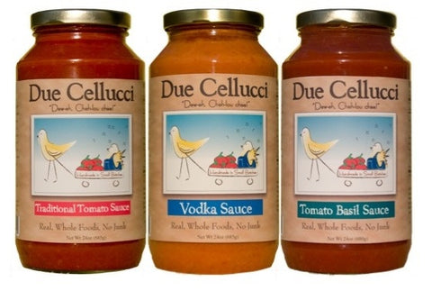 Due Cellucci Tomato Sauce Gift Set