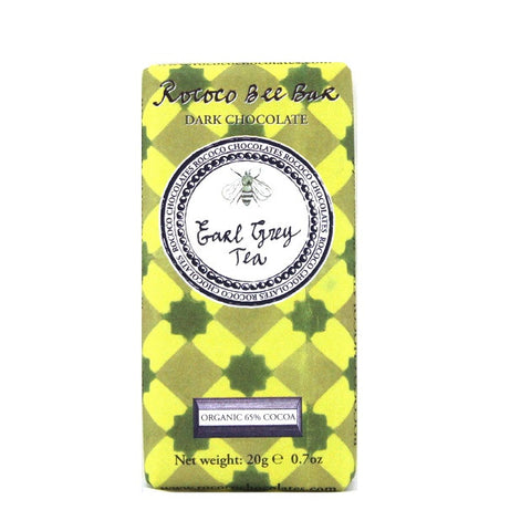 Earl Grey Dark Chocolate Bee Bar