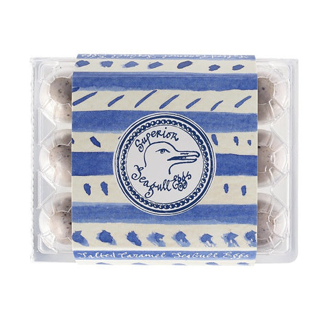 Superior Sea Gull 'Fleur de Sel' Salted Caramel Eggs Crate