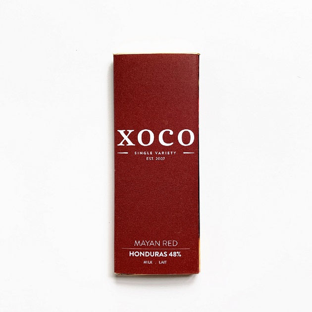 XOCO-Gourmet-48%-Mayan-Red-Dark-Milk-Chocolate