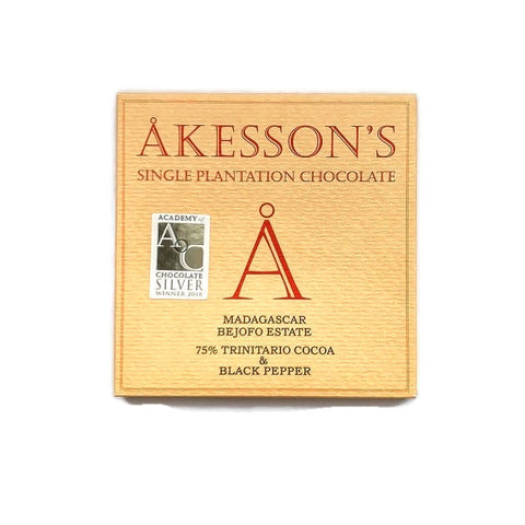 Akesson Madagascar Trinitario 75% with Pepper