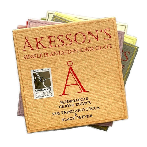 Akesson's Single Plantation Chocolate Gift Set