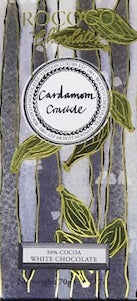 Cardamom Crackle White Chocolate Artisan Bar