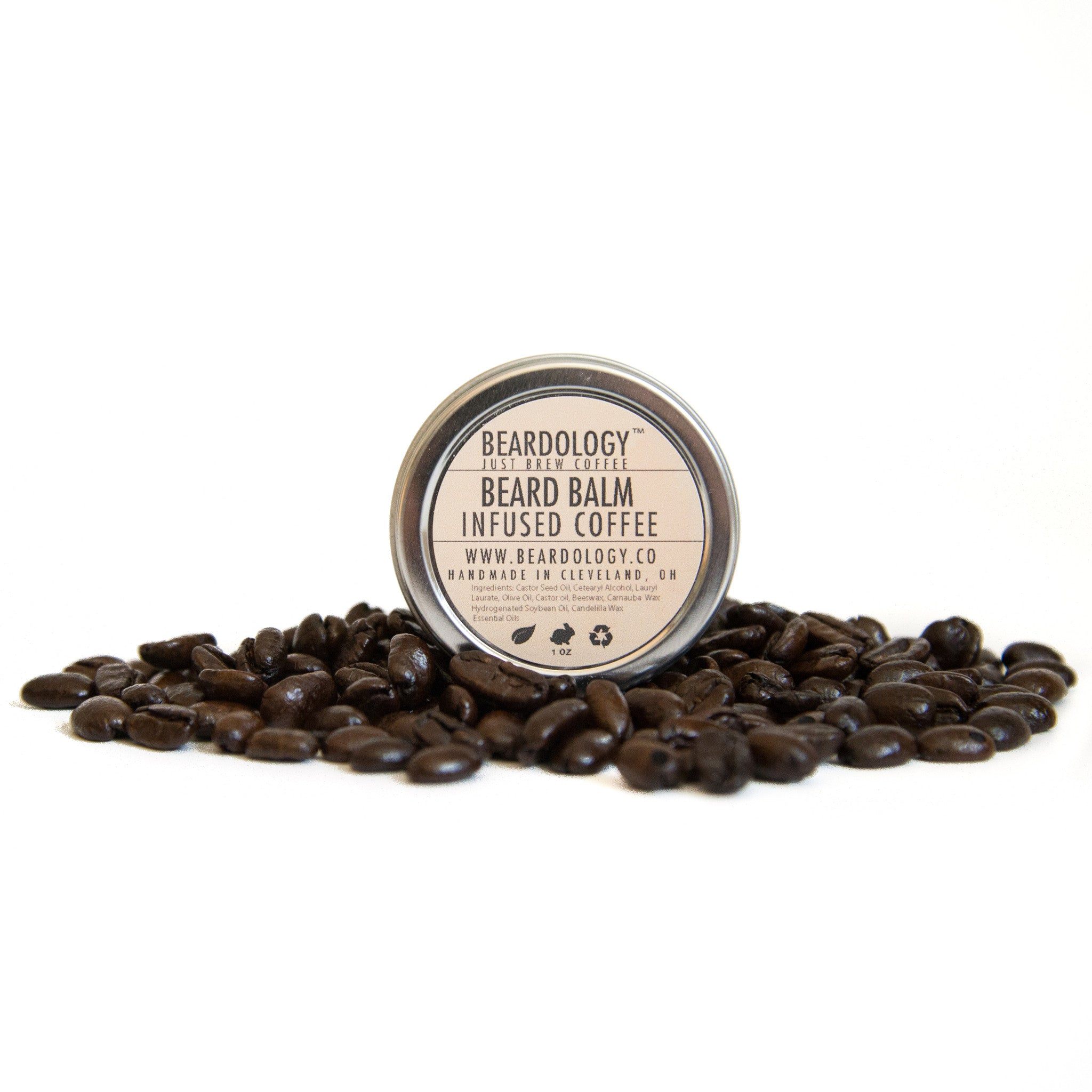 Coffee Infused Beard Balm