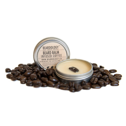 Coffee Infused - One Ounce Beard Balm