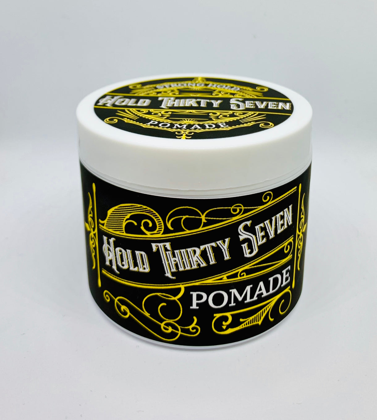 Hold 37 - Pomade - Water Based - Strong Hold - 4 Ounces