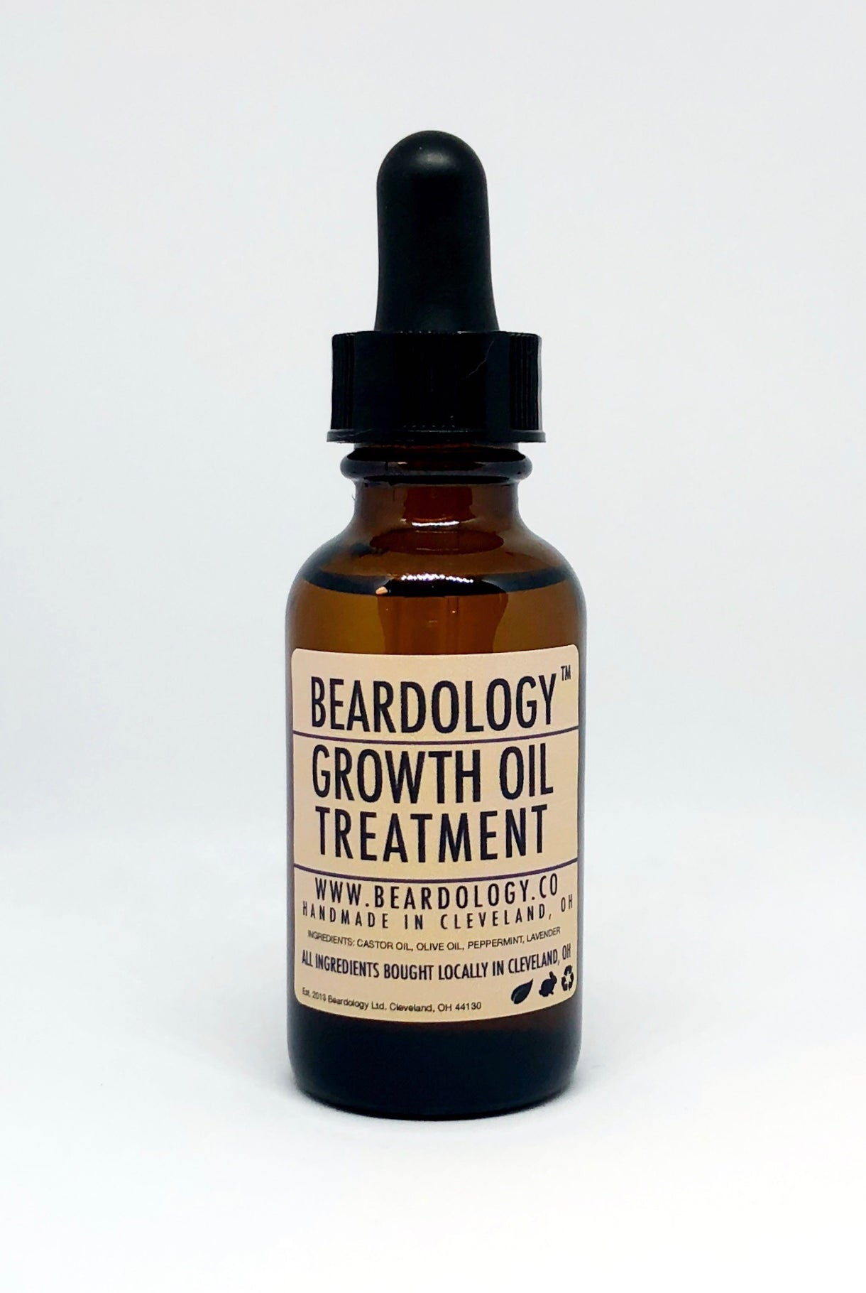 Beard Growth Oil - One Ounce - All Natural