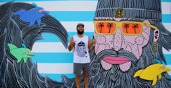 Boardies® talks to Sydney Street Artist, Mulga