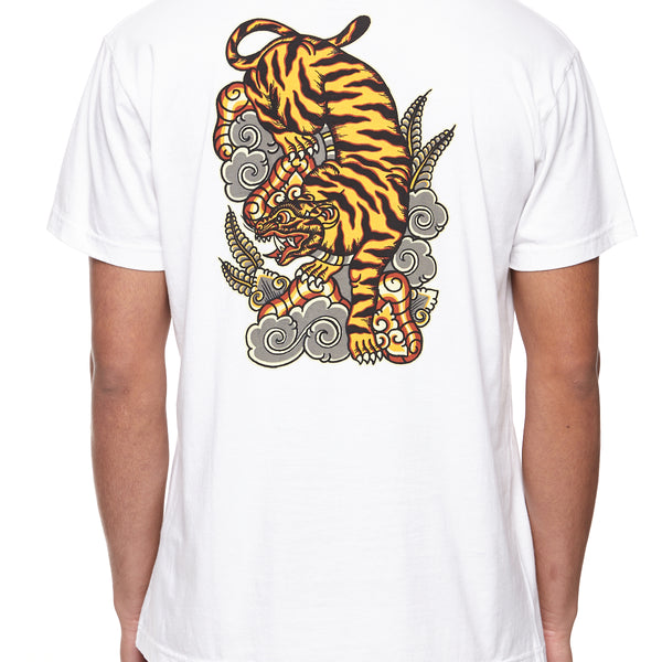 New Roaring Bengal Tiger T Shirt XXL By Wild Front /& Back Print M