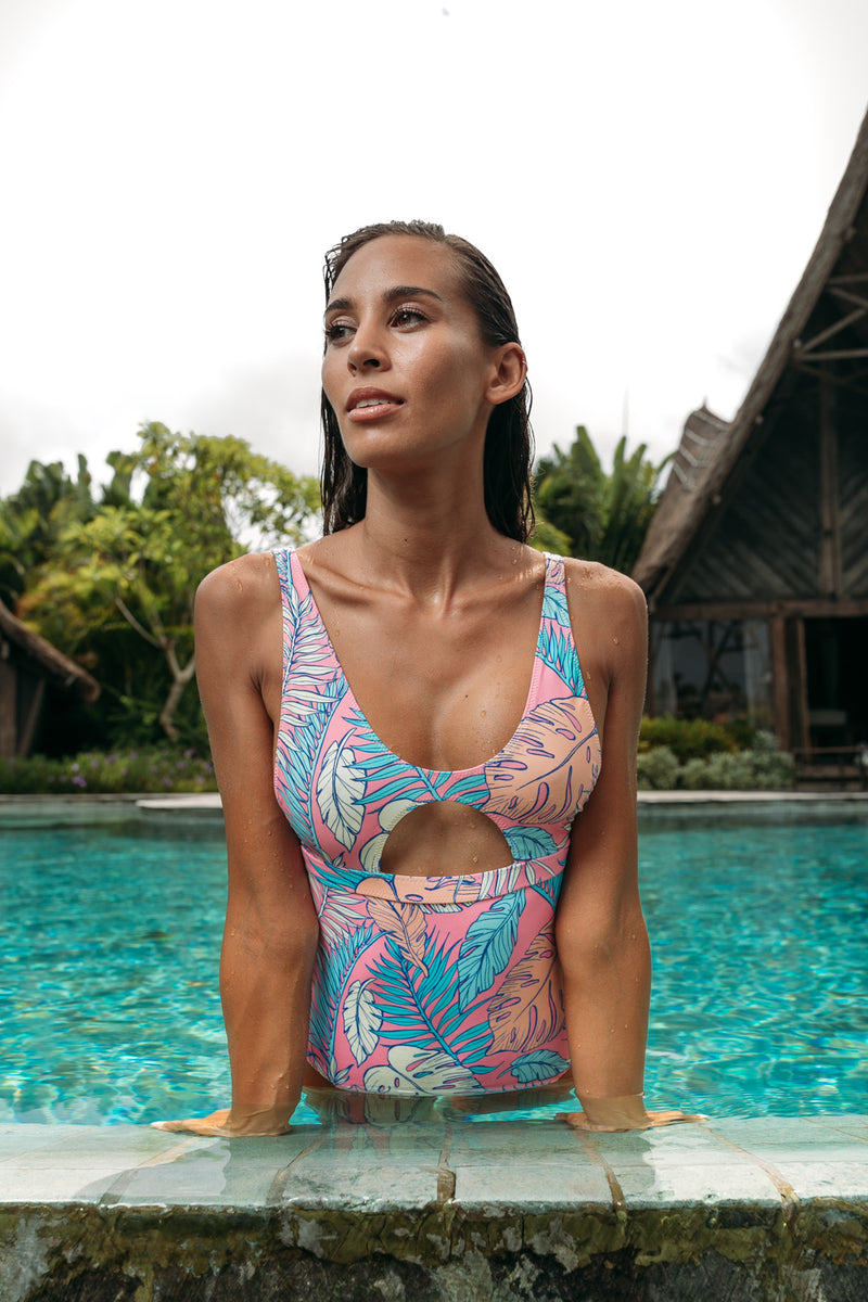 Palmtopia Cutout One Piece