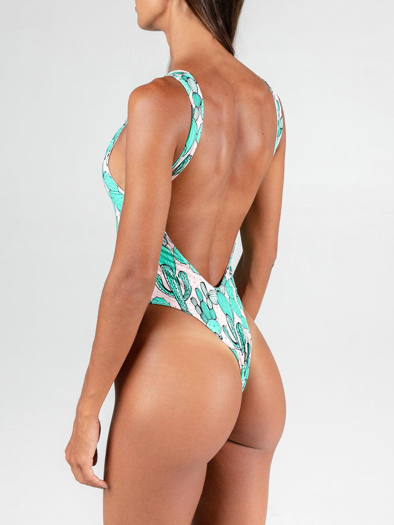 Dry Heat Cheeky One Piece