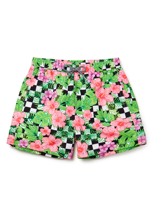 Kids Checker Flower