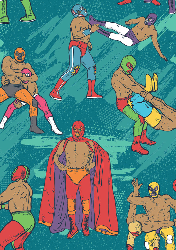 Mexican Wrestlers