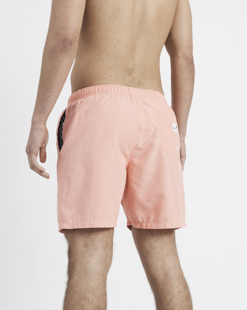 Boardies® Coral Mid Length Swim Shorts - Boardies®