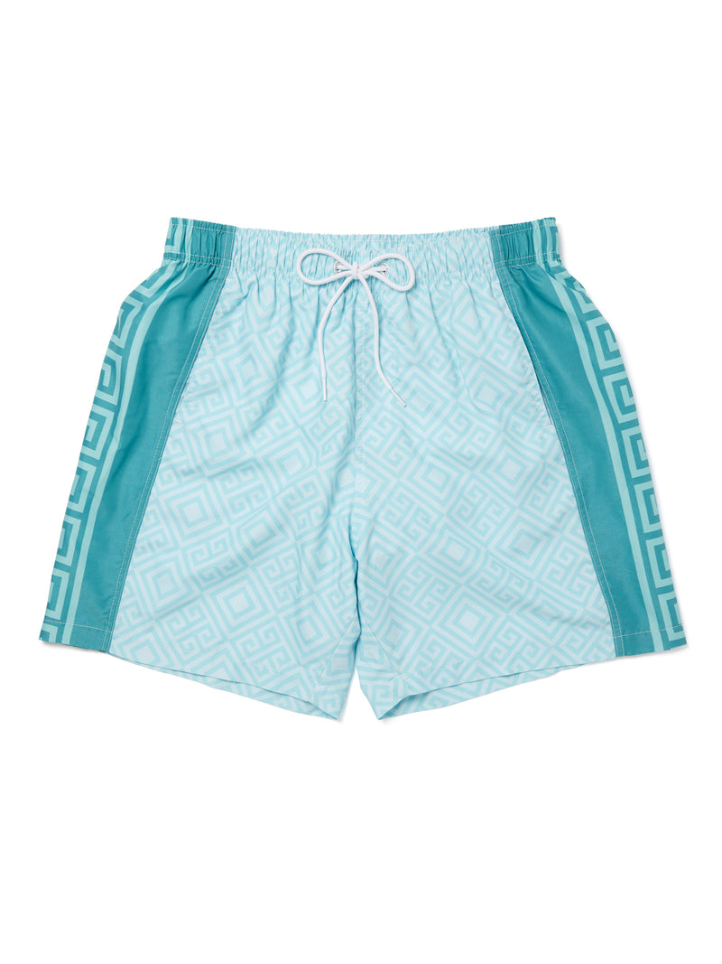 Greco Side Panel Shorts