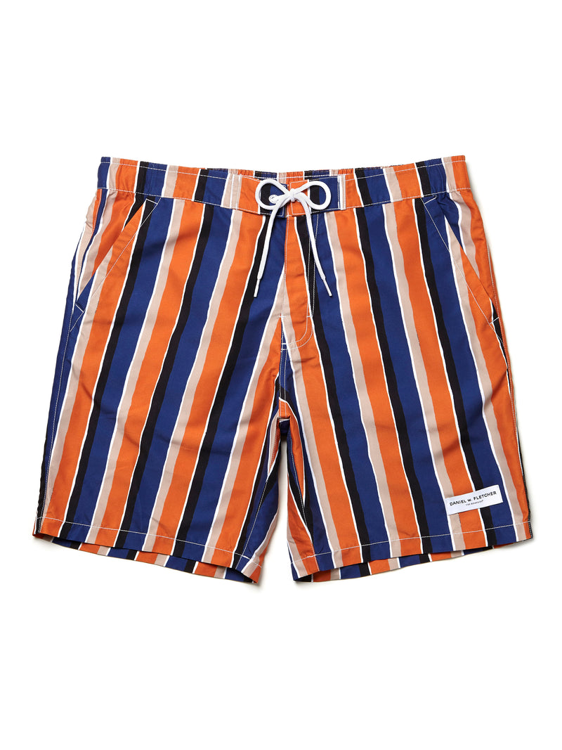 Daniel w. Fletcher Orange Stripe
