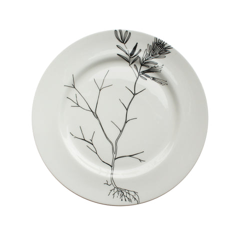 Mountain Devil, Botanical Dinner Plate, 26cm