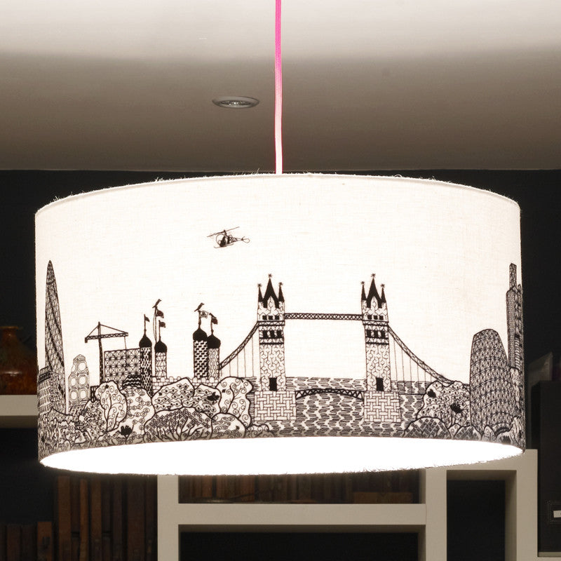 London Skyline Lampshade