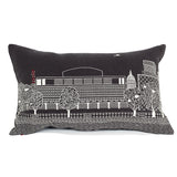 Royal Festival Hall Grey Linen cushion cover