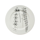 Double Botanical, Botanical Dinner Plate, 26cm