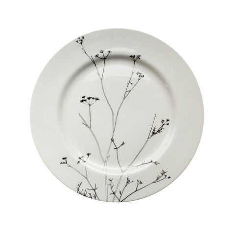 Cow Parsley, Botanical Dinner Plate, 26cm