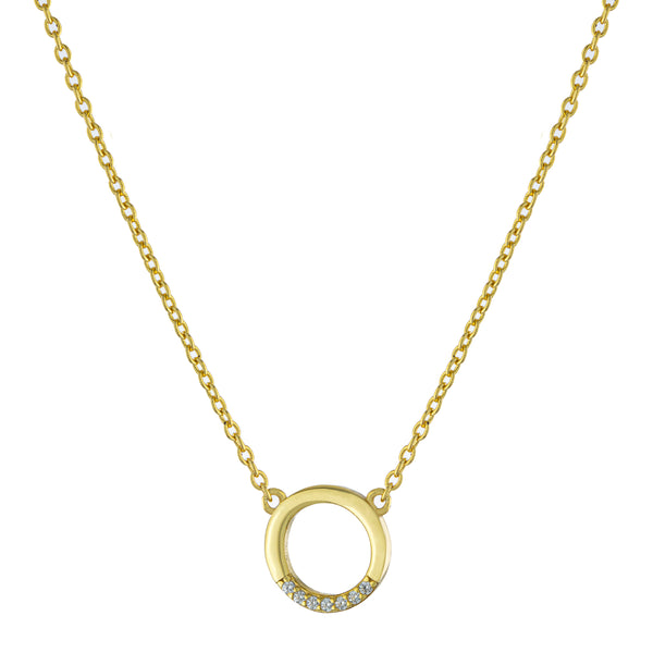 The Gold Infinite Necklace