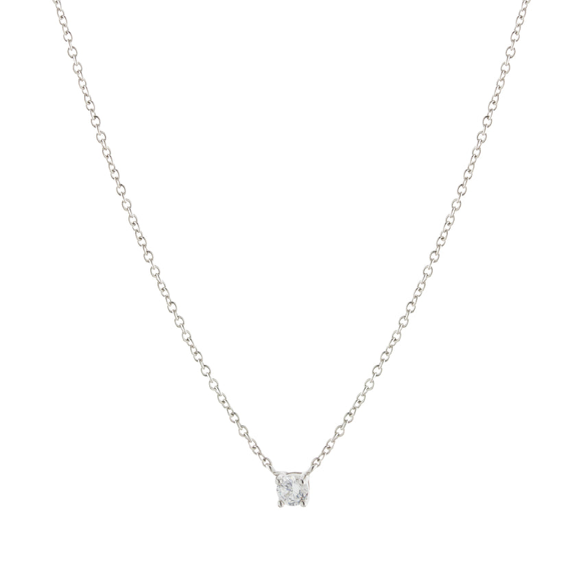 The Silver Jazmin Necklace
