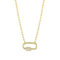 Dani Lock Necklace