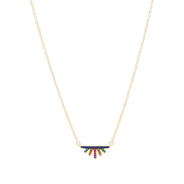 Multi Ray Necklace