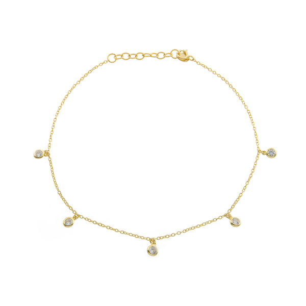 Gold Glow Up Anklet
